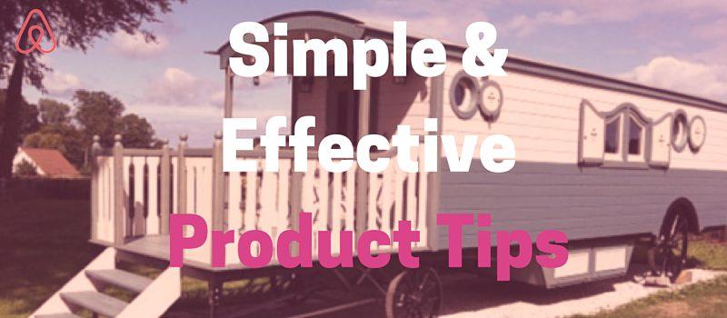 Simple airbnb tricks