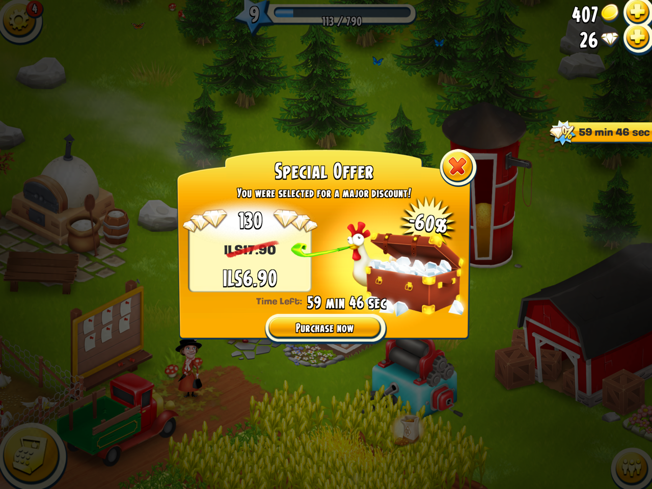 Scarcity on Hay Day