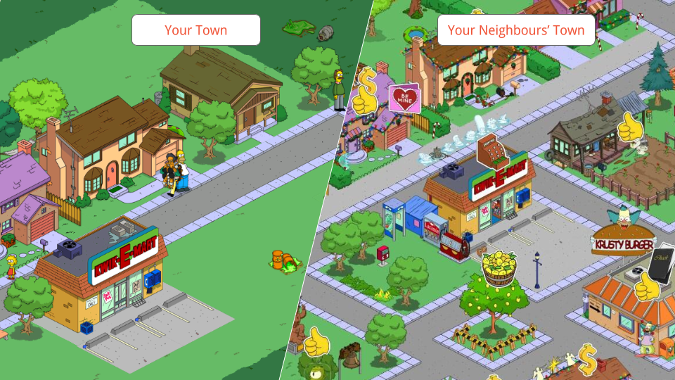 Simpsons tapped out envy