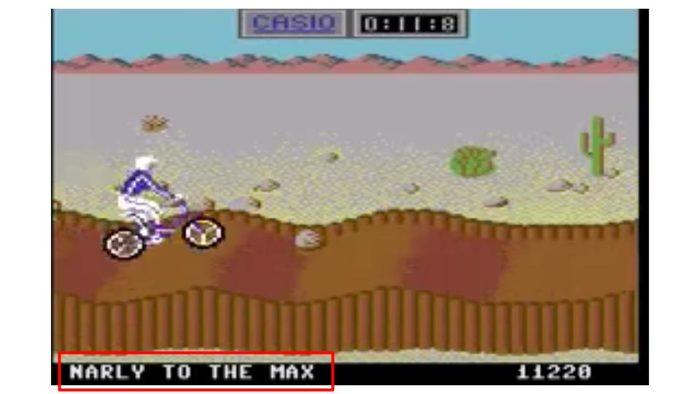 California Games BMX