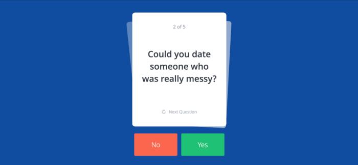 OkCupid reimagines surveys as  fun, personal trivia games.